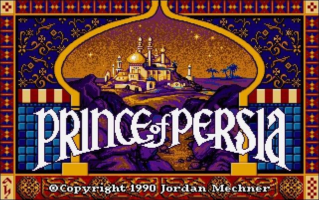 Vintage games - Prince of Persia