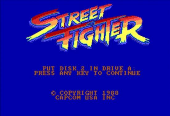 Vintage games - Street Fighter