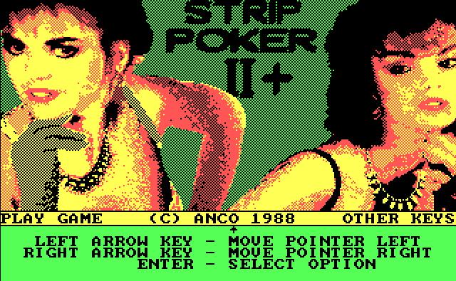 Vintage games - Strip Poker