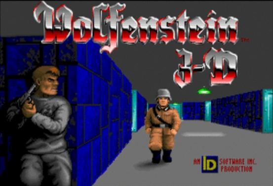 Vintage games - Wolfenstein 3D
