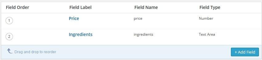 WordPress custom fields