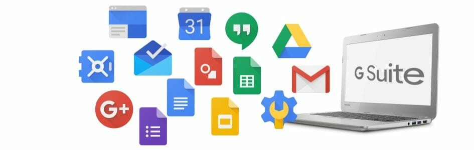 Try Google G Suite for free